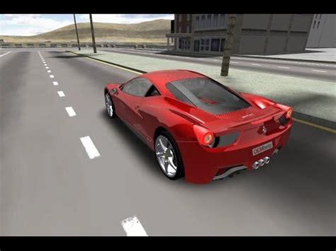 ferrari  gameplay  car game youtube