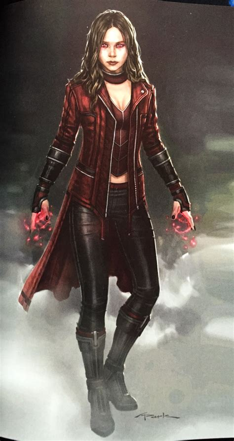 scarlet witch  ultron  looked