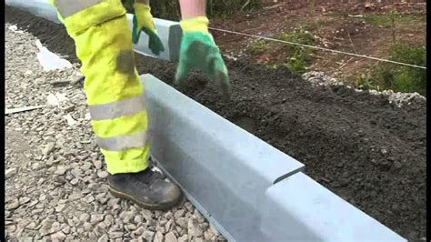 How To Lay Kerbs  Aggregate Industries Durakerb Youtube