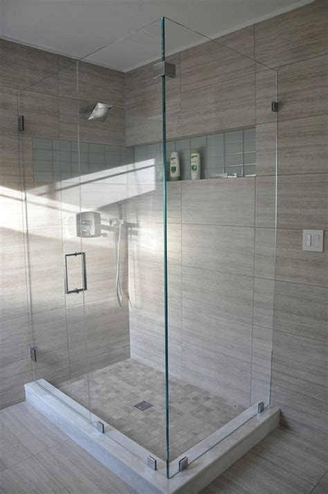 stunning shower design showcases seta glazed
