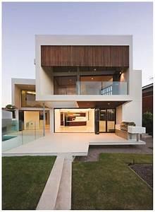 Diseños de Fachadas de Casas de Dos Pisos Modernas e Impactantes Fachadas de Casas Minimalistas