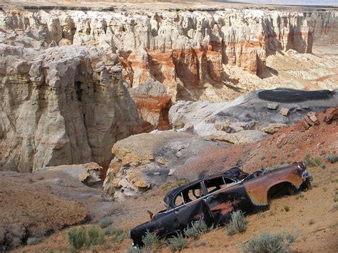 Old Car Coal Mine Canyon Arizona