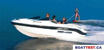 Jet Boat Insurance Bc by 2001 Sea Doo Sportboat Challenger 1800 Tested Reviewed
