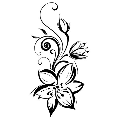 fleurs de lys tribal