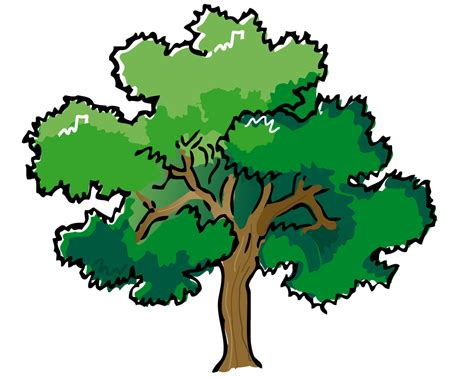 tree clipart clip trees and leaves clipart panda free clipart
