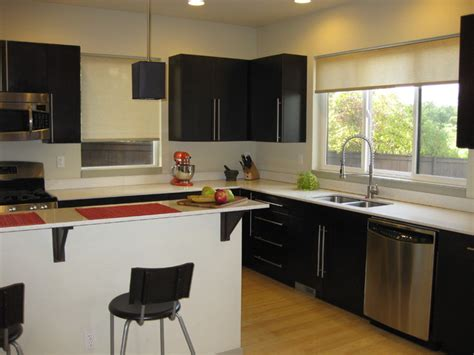 contemporary kitchen blinds roller shades contemporary kitchen seattle by 2466