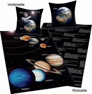 Bettwäsche Unser Sonnensystem : fun collection bettw sche unser sonnensystem ~ Michelbontemps.com Haus und Dekorationen