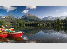 Štrbské Pleso lake, Slovakia Britannicacom