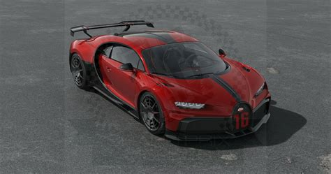 Back then, the mere notion of a world war didn't exist, construction of the titanic was just about to get started, and molsheim, the french city that bugatti calls home, was still part of germany. Bugatti Chiron Pur Sport 2020 Red by Looksmart