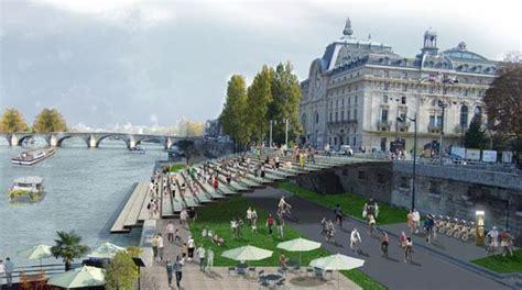 mairie de seine port berges seine port solferino mus 233 e orsay urbanews