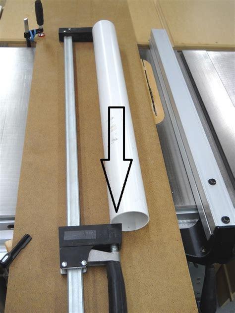 Cutting Pvc Pipes Lengthwise  Couper Les Tuyaux De Pvc