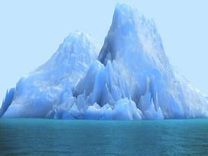 The gallery for --> Iceberg Underwater High Resolution