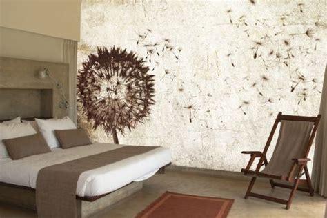 dandelions   wind zazous wallpaper murals