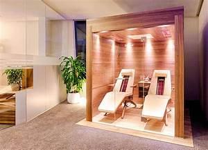 Infrarotkabine 2 Personen Günstig : luxus infrarotkabine f r 2 personen liegend in nussholz ~ Bigdaddyawards.com Haus und Dekorationen