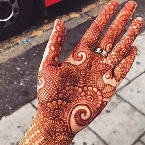 Simple Mehndi Design Front Hand 2019