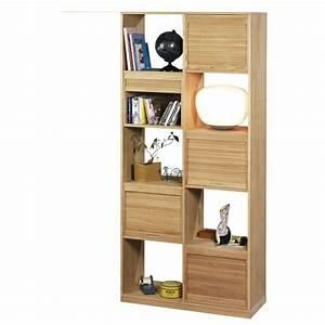 Meuble Salon Bois : le meuble colonne en 45 photos qui vont vous inspirer ~ Teatrodelosmanantiales.com Idées de Décoration