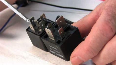 electric fan connection using fan relay kit