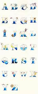 1000 images about abc39s on pinterest disney alphabet With nautical themed alphabet letters