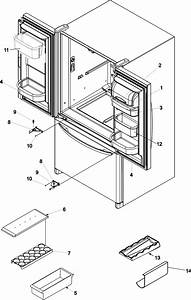Ref Dr Storage  U0026 Center Hinges Diagram  U0026 Parts List For