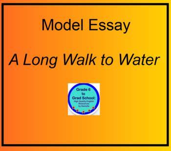 model essay   long walk  water nyas challenges