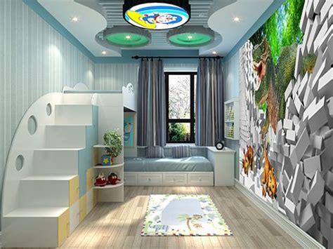tapisserie papier peint poster g 233 ant d 233 coration murale 3d chambre d enfant dinosaure chambres