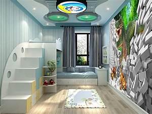 Decoration Murale Chambre Enfant : tapisserie papier peint poster g ant d coration murale 3d chambre d 39 enfant dinosaure chambres ~ Teatrodelosmanantiales.com Idées de Décoration