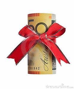 Australian Money Gift Royalty Free Stock Image Image