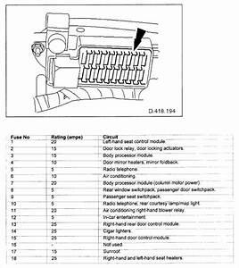 2000 Jaguar Xj8 Fuse Box Diagram Wiring Automotive 2002 Type Image
