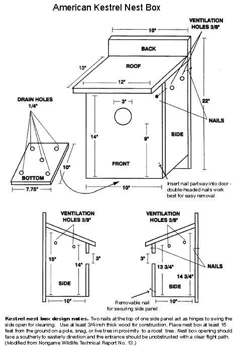 kestrel nest box american kestrel nesting boxes bird