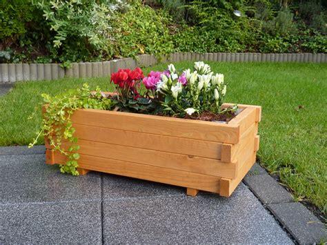 Holzblumenkübel Promadino «pflanzkasten» Eckig