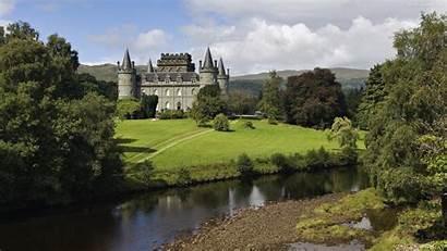 Scotland Castle Landscape Wallpapers Wallpaperaccess Backgrounds
