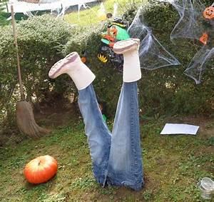 Idée Pour Halloween : d coration halloween pour un jardin qui donne la chair de poule design feria ~ Melissatoandfro.com Idées de Décoration