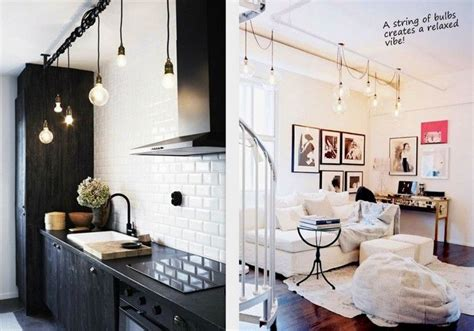 string lights for kitchen string of exposed bulb lights my house i wish 5905