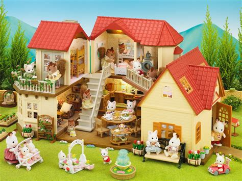 calico critters cozy cottage cozy cottage starter home calico critters