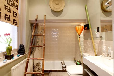 indogate echelle salle de bain bambou