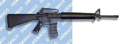 diemaco   assault rifle canadadian variant rifle armedkomando