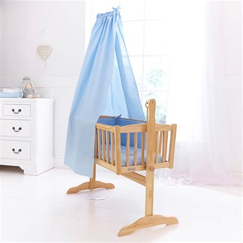 Crib Drapes - freestanding drape rod set for baby cribs clair de