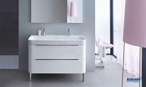 meubles salle de bains happy d2 120 cm duravit espace aubade With duravit meuble salle de bain
