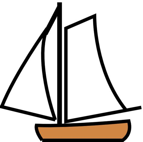 Free Clipart Of Boat by Sailing Boat Clip At Clker Vector Clip