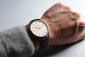 daniel wellington bracelet cuir noir With robe fourreau combiné avec bracelet montre wd