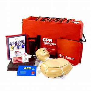 Cpr In Schools Training Kit U2122