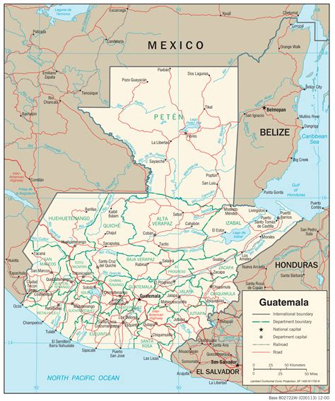 guatemala maps perry castaneda map collection ut