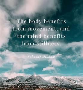 61 Best Meditat... Fitness Movement Quotes