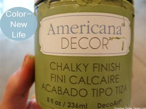 chair makeover and americana brand chalk paint review