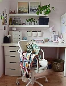Diy Deko Jugendzimmer : interior teenager m dchen zimmer schreibtisch deko ~ Watch28wear.com Haus und Dekorationen