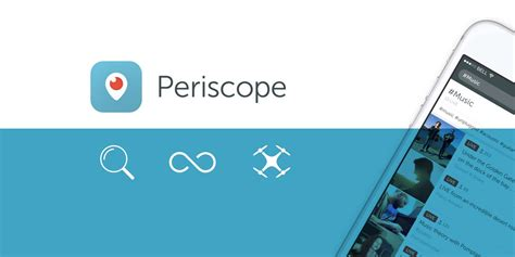 periscope takes   skies   drone