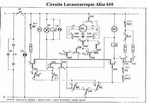 Diagrama Del Circuito El U00e9ctrico Candy Alise 610