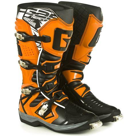 orange motocross boots new gaerne 2017 mx g react euro dirt bike g react black