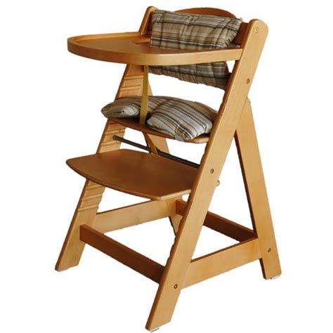 brand new wooden high chair baby chairs large food