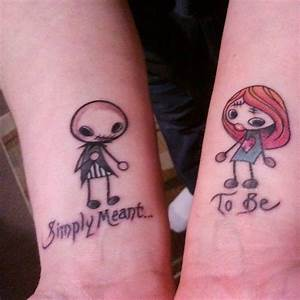 22 best Jack And Sally Couple Tattoos images on Pinterest ...